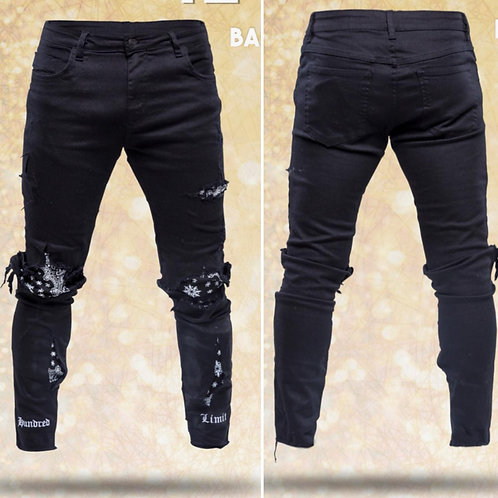CALÇA HUNDRED BLACK TRI