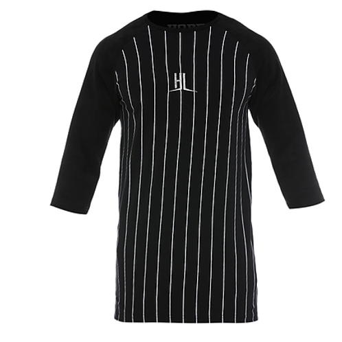 CAMISA HUNDRED RAGLAN3/4 BLVCK