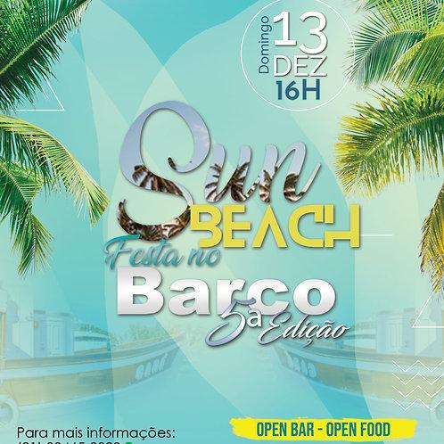 3º LOTE SUN BEACH FESTA NO BARCO 5º EDIÇÃO