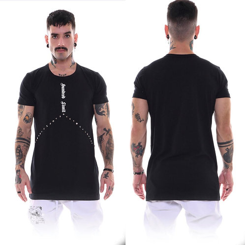 CAMISA HUNDRED LIMIT SPIKE PRETA