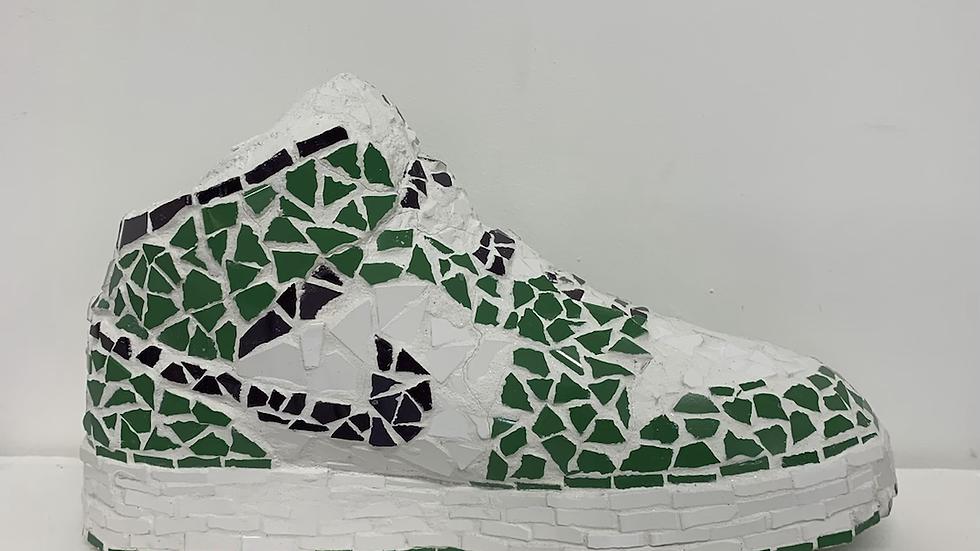 Green Nike Air Jordans