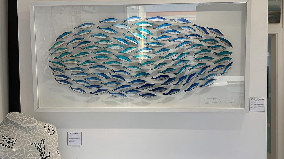 Large shoal of sardines