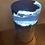 Thumbnail: Blue resin elm burr concrete lamp