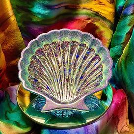 Orgone Original Works Shell Dish Orgone Energy Piece