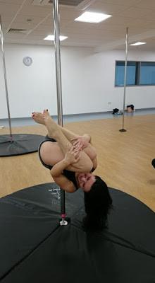 Magdalena De performing Bomb at Bognor Regis Pole Passion  - Inspire Leisure