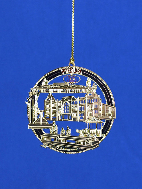 Piqua Landmarks Ornament