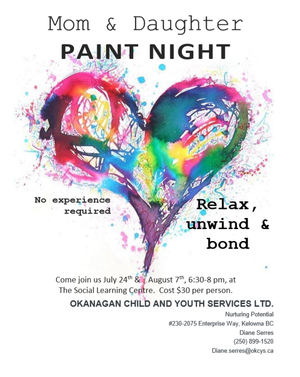 Upcoming Mother & Daughter Paint Night