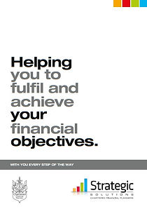 Helping you to fulfil and achieve your financial objectives