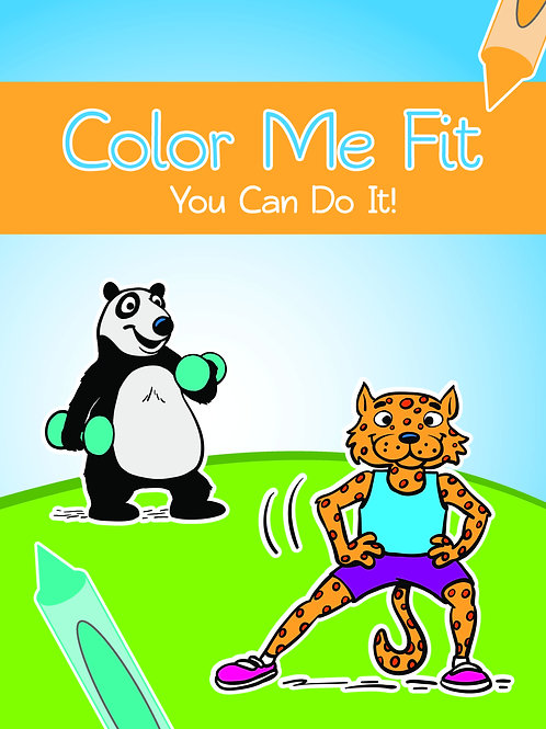 Color Me Fit Coloring Book - NAFH-BOOK