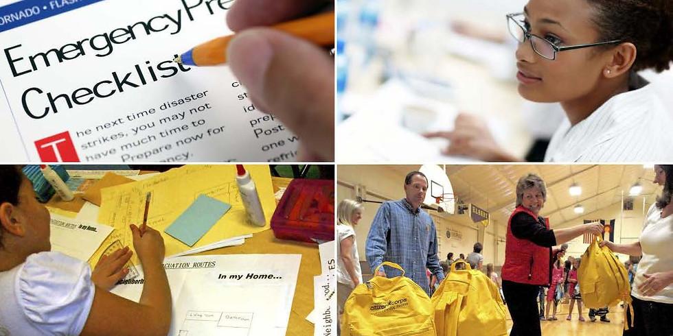 Community Preparedness:  Simple Activities for Everyone (Jan)