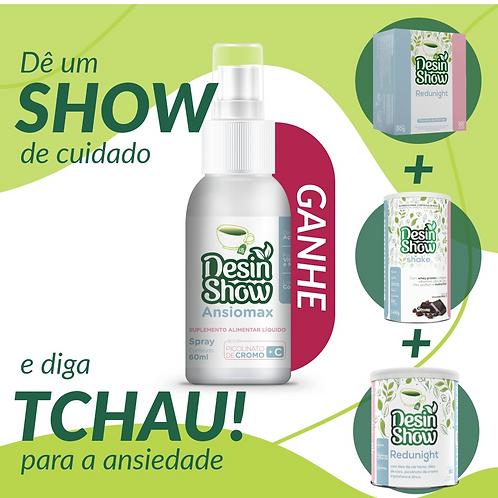 COMBO XÔ ANSIEDADE - SHOW DE CUIDADO!