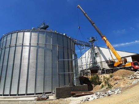 Extension de stockage de 4000 tonnes en Ille-Et-Vilaine