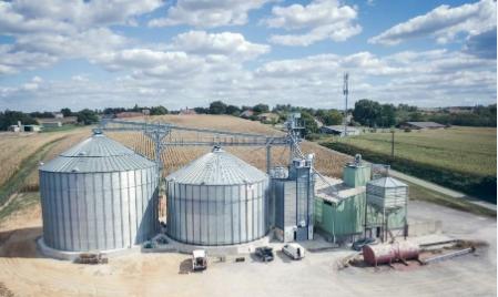 Extension d'une installation de séchage/stockage dans les Landes (40) :