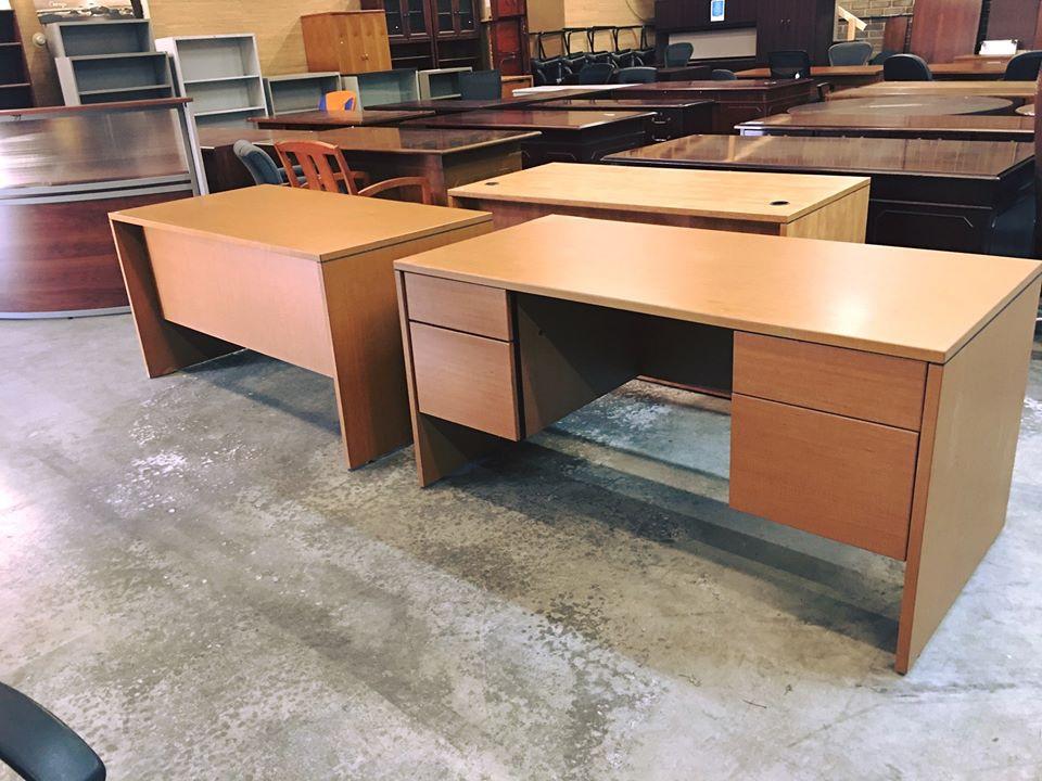 Light Cherry Desks.jpg