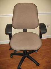 used office task chairs, used guest chairs, used side chairs.
