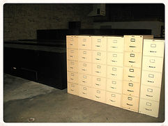 used lateral and vertical filing cabinets
