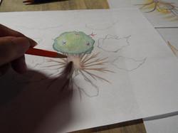 色鉛筆イラスト例3