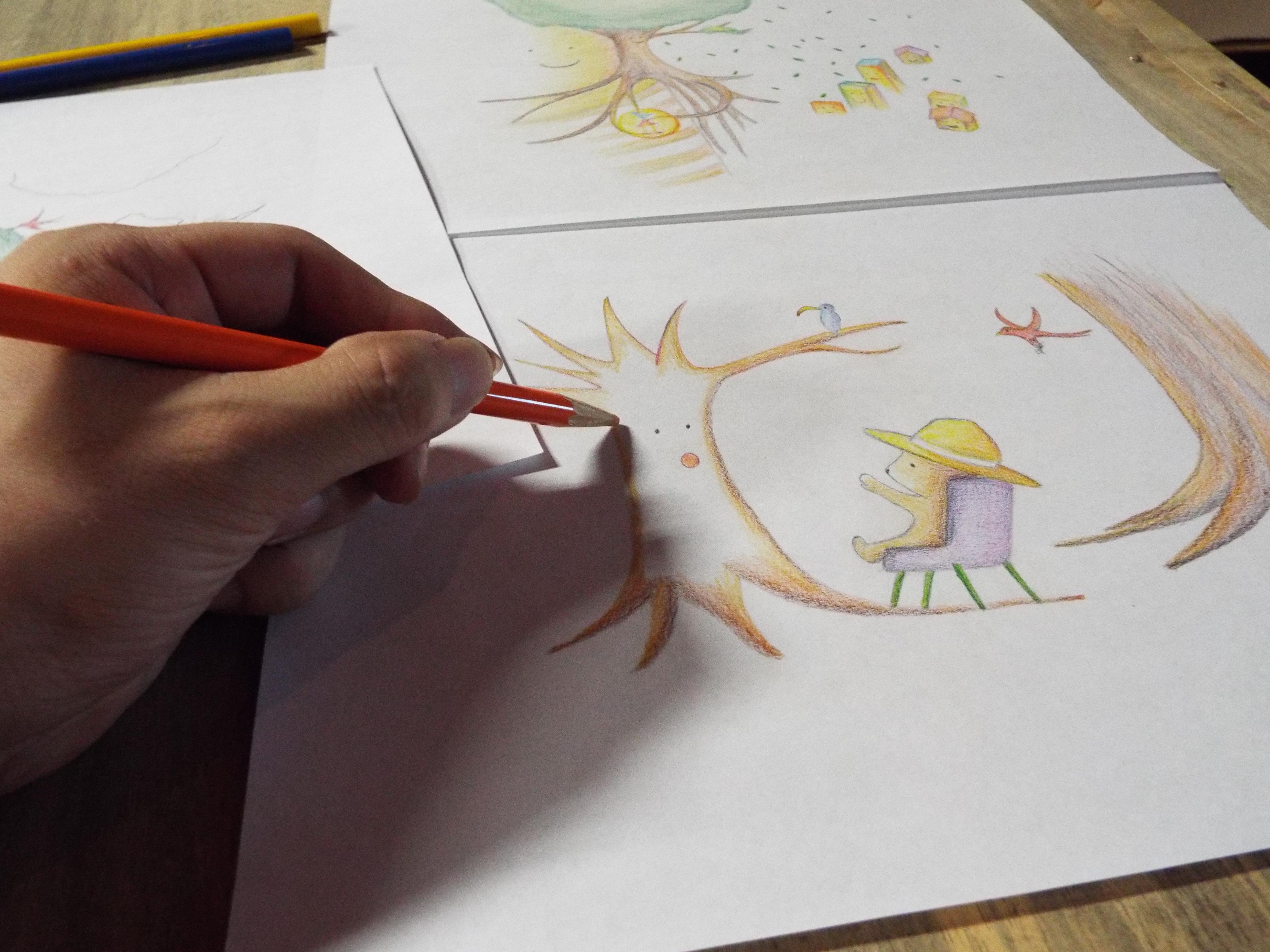 色鉛筆イラスト例2