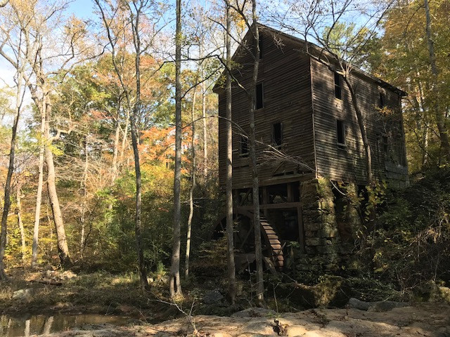 Wilkerson Mill on Little Bear Creek in Chattahoochee Hills, Ga.