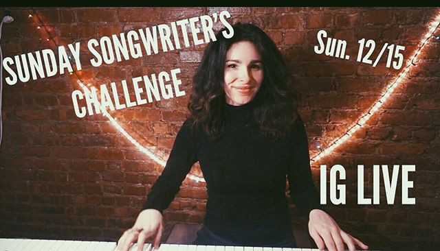Songwriter's Sunday Poster