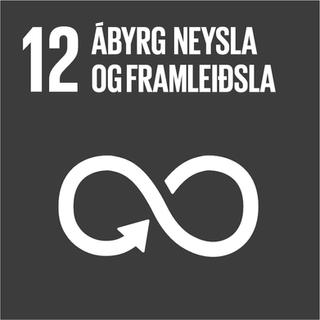 •Áhersla á vistvæna hönnun     þ.m.t. til að minnka notkun     efnis og orku •Ábyrg innkaup •Fylgst er með pappírs-      notkun EFLU  •Fylgst er með rafmagns-      og vatnsnotkun •Loftslagsmarkmið  •Vottuð umhverfisstjórnun     skv.  ISO 14001