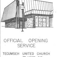1967 - Tecumseh Untited Chuch's Lacasse