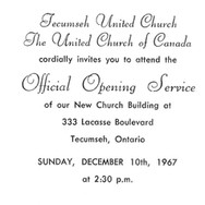 1967 - December - Invitation to the Offi