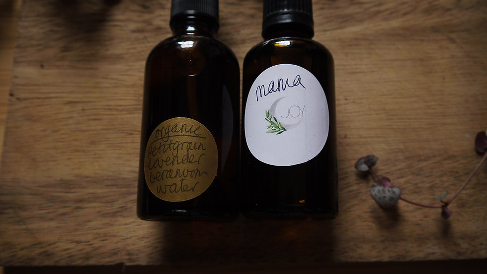 Mama 50ml oil & Mama Spray Sleepy/Calm