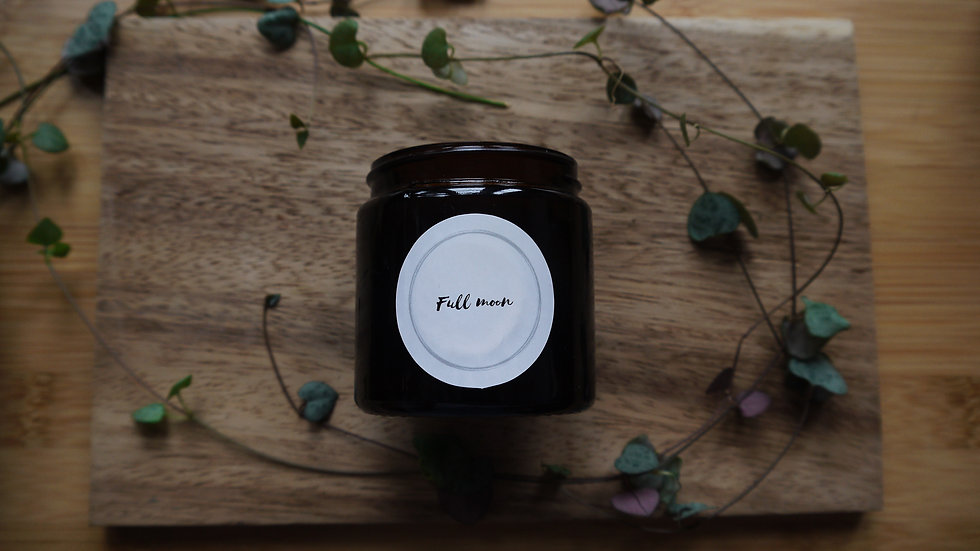 Full moon candle 120ml