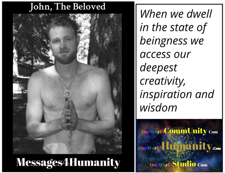 Being Accesses Creativity
