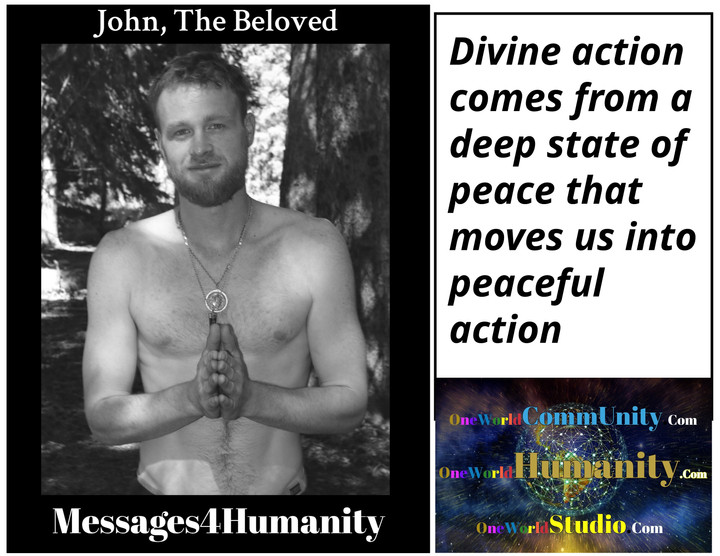 Divine Action Leads to Peace