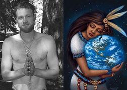 One World Logo w_John. hearts and Indian