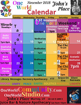 One World Calendar  11_2018 w_One World
