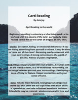 April Reading by Asia