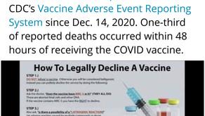 COVID-19 VAX UPDATE