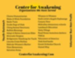Center for Awakening Organizations donat