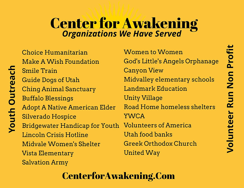 Center for Awakening Organizations donat
