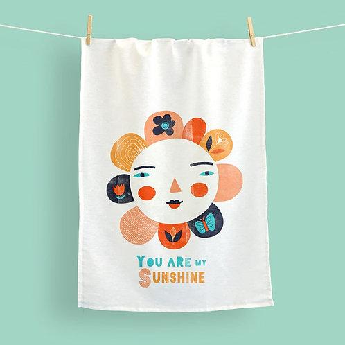 You are my Sunshine tea towel