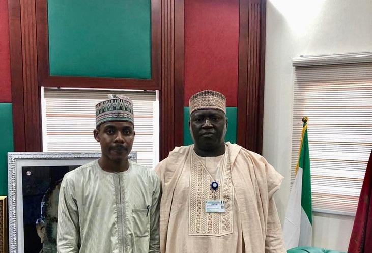 Speaker with the Clerk to the National Assembly