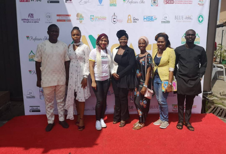 Deputy Speaker Alongside Some Members at a Program in Lagos