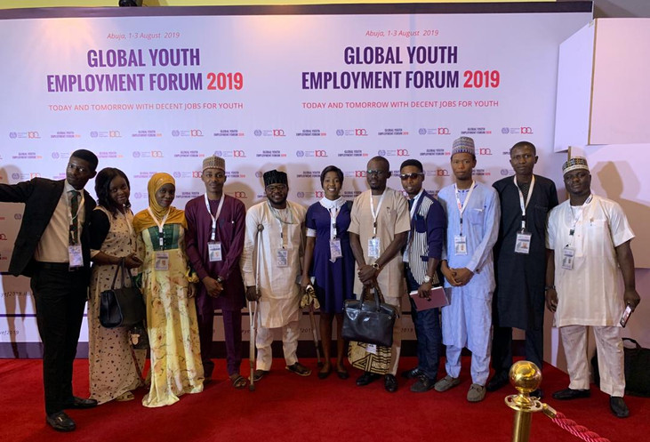Speaker Along with Some Parliamentarians at the Global Youth Forum 2019