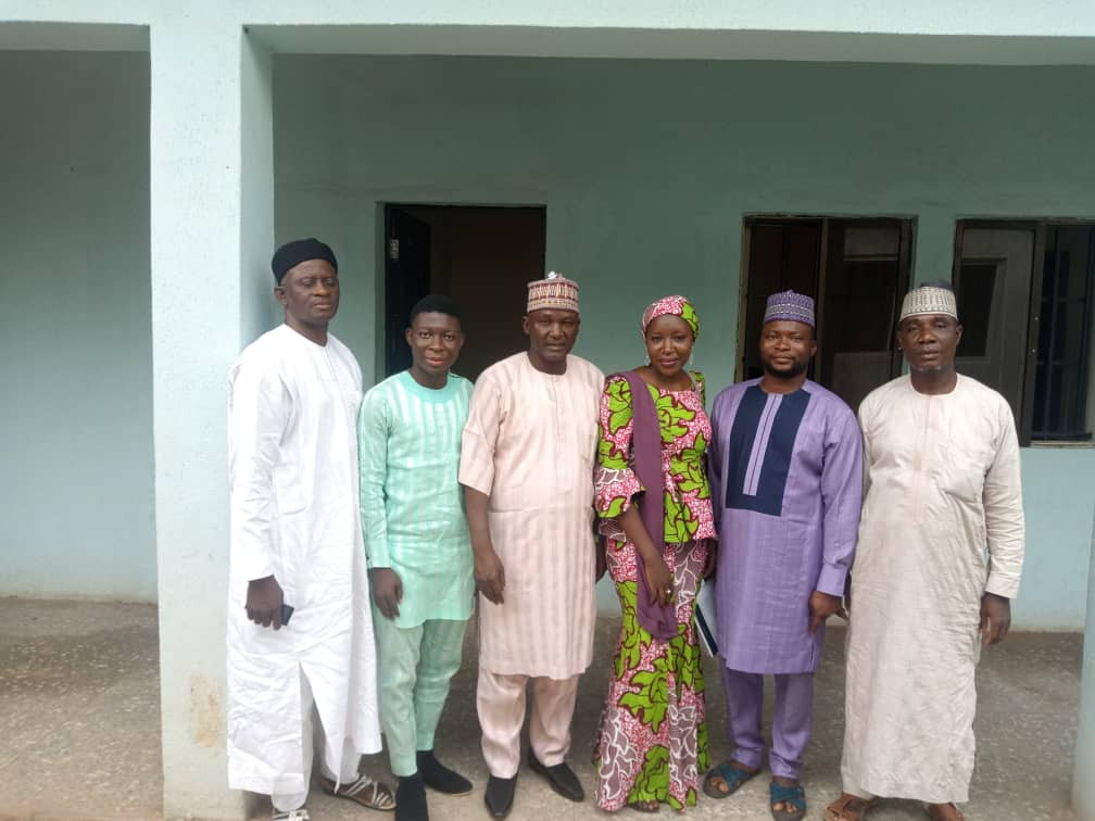 Nasarawa State Parliamentarians with Hon Commissoner of Youths and Sport Nasarawa State