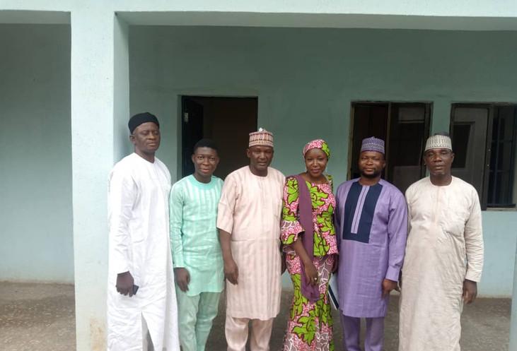 Nasarawa State Parliamentarians with Hon Commissoner of Youths and Sport Nasarawa State