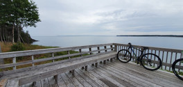 Point de vue depuis la parc provincial de l'Anse Herring