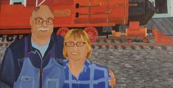 Guy et son épouse