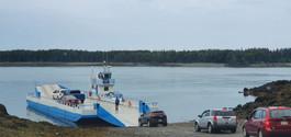 Ferry de Deer Island