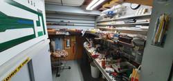 Atelier de confection des voies ferrées miniatures