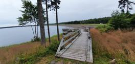 Point de vue depuis le parc de l'Anse Herring