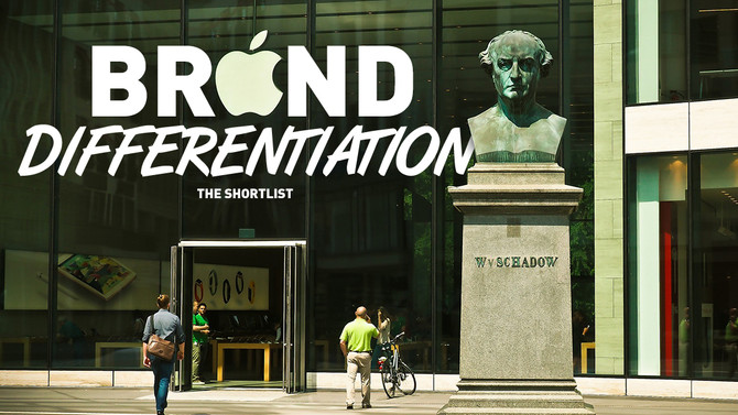 Brand Differentiation: The Shortlist