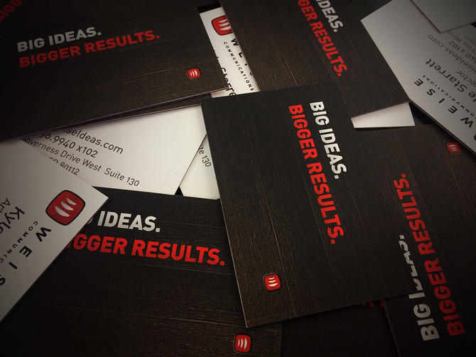 Business Card Design: 4 Basic Principles